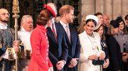 Meghan Markle i księżna Kate spotkały się podczas uroczystości! Księżne miały nietęgie miny!