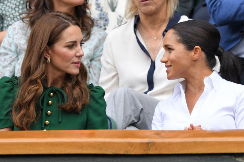 Meghan Markle i księżna Kate /Karwai Tang /Getty Images