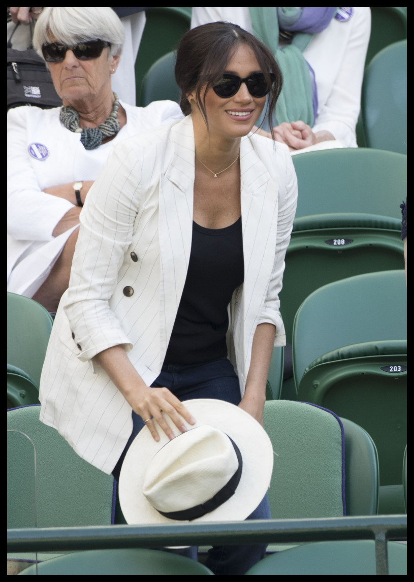 Meghan Markle na meczu /Stephen Lock / i-Images /East News