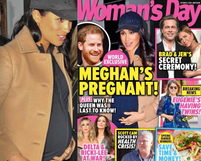 """Meghan Markle na okładce """"Woman's Day"""" /East News"""