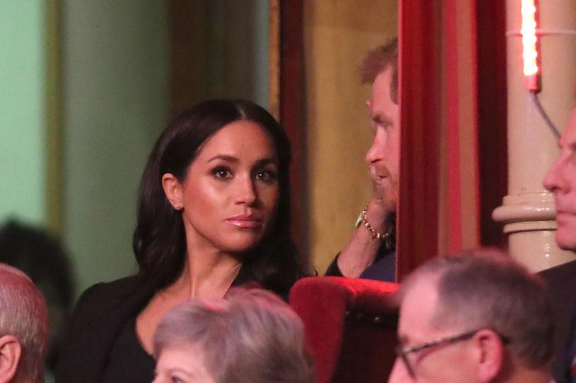 Meghan Markle nie szczędziła czułości mężowi /Chris Jackson /Getty Images