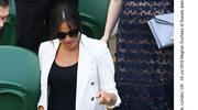Meghan Markle nieoczekiwanie pojawiła się na Wimbledonie