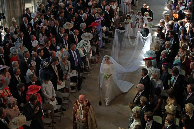 Meghan Markle w dniu ślubu /East News