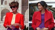 Meghan Markle wygląda identycznie, jak księżna Diana