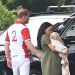 Meghan Markle zabrała syna na mecz polo. Pierwsze takie zdjęcia Archiego!