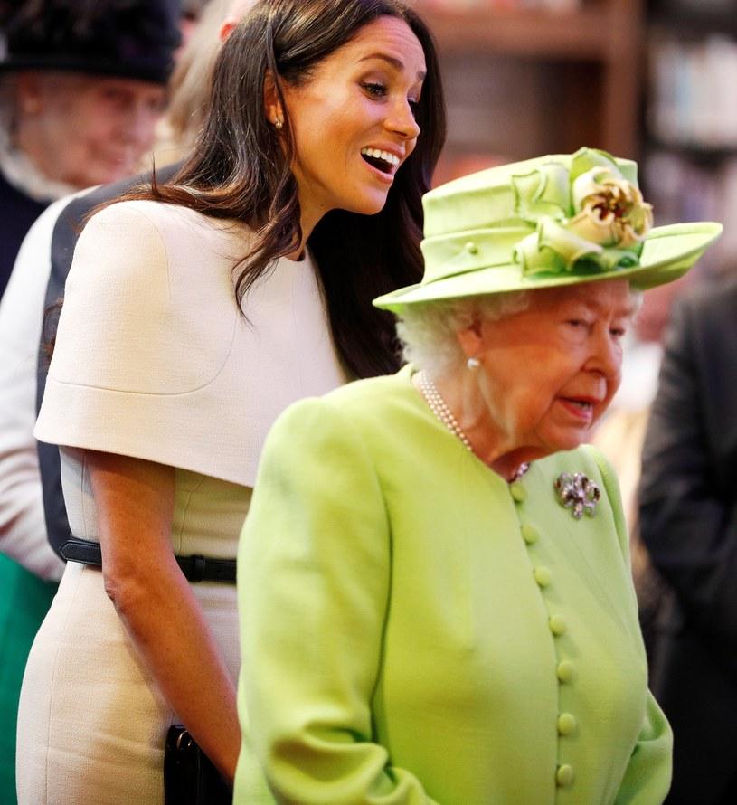 Meghan Markle została drugi raz mamą. Królowa Elżbieta II wystosowała z tej okazji oficjalne gratulacje /WPA Pool /Getty Images