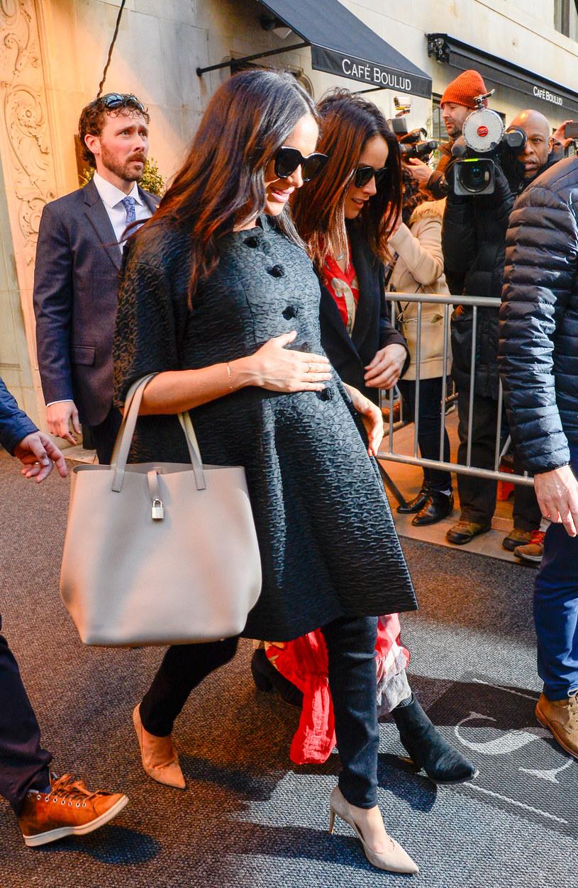 Meghan na baby shower w Nowym Jorku /Getty Images