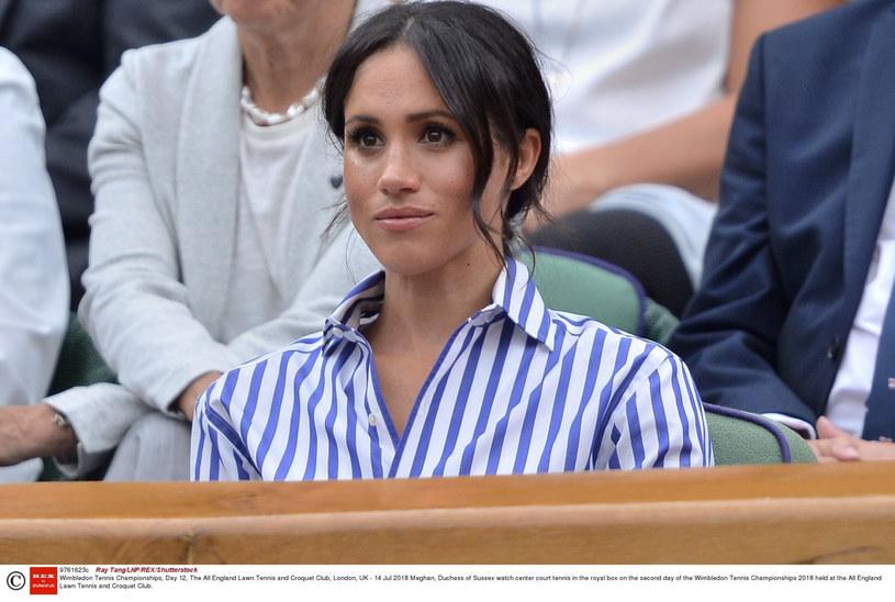 Meghan na Wimbledonie /Ray Tang/LNP/REX/Shutterstock /East News