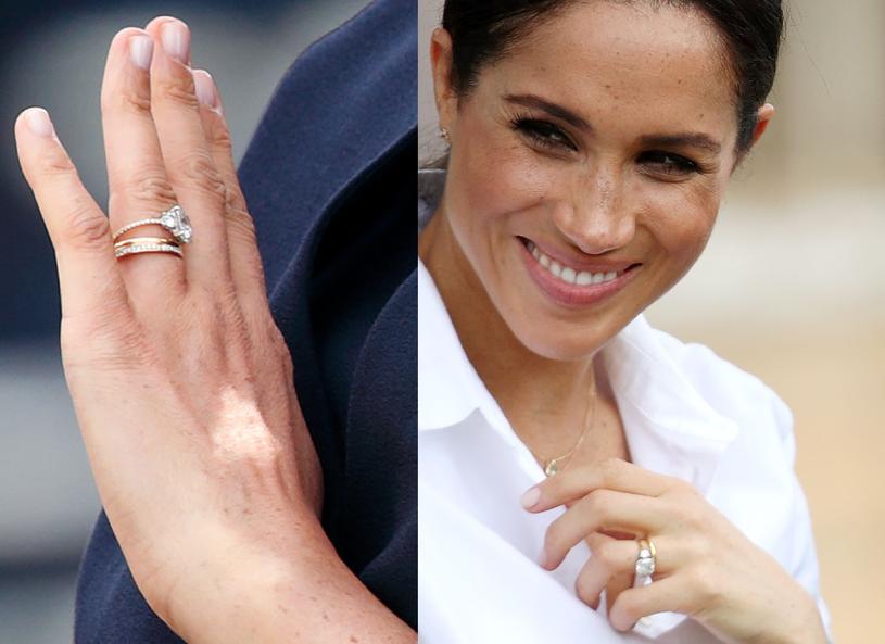 Meghan zmodyfikowała pierścionek! /Getty Images