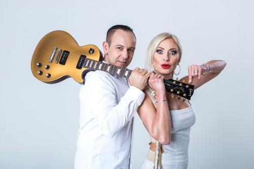 Mejk i wokalistka Elwira /TVP