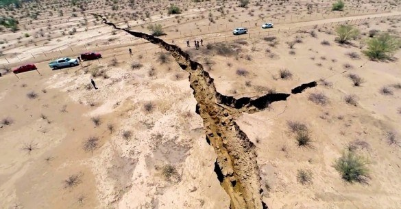 Meksyk: Gigantyczna wyrwa w ziemi /materiały prasowe