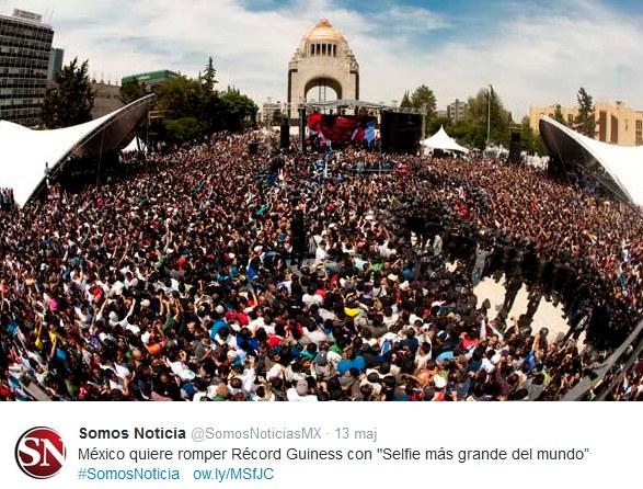 Meksykanie nie odebrali lauru pierwszeństwa Amerykanom /Twitter