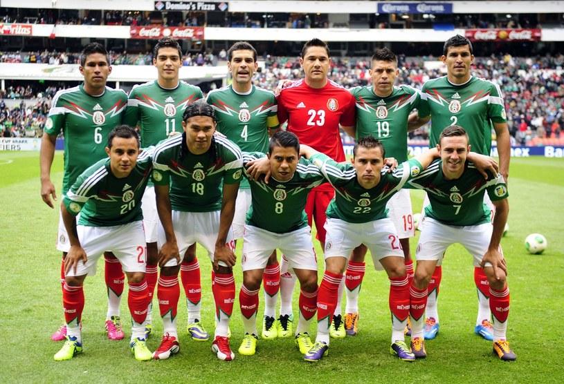 Meksykańscy piłkarze są ostro krytykowani /AFP