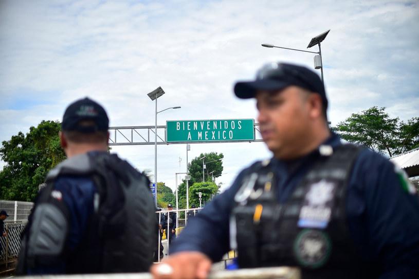 Meksykańska policja; zdj. ilustracyjne /Pedro Pardo / AFP /East News
