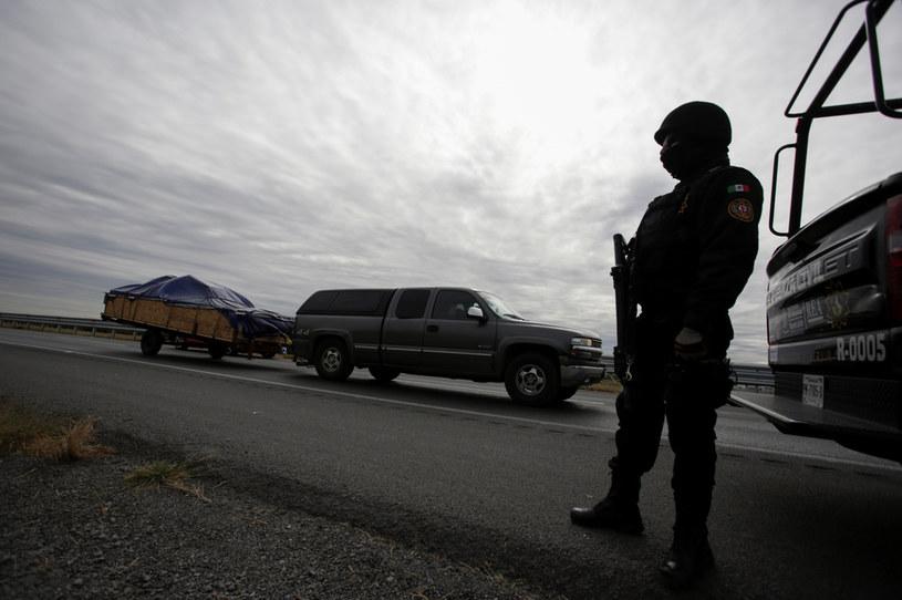 Meksykańska policja, zdj. ilustracyjne /DANIEL BECERRIL/Reuters /Agencja FORUM