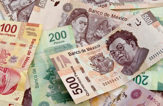 Meksykańskie peso ma problemy /©123RF/PICSEL