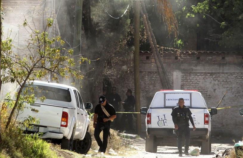 Meksykańskie służby, zdj ilustracyjne /AFP