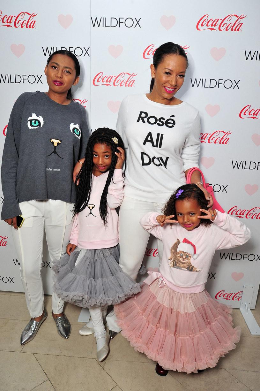 Mel B z córkami - Phoenix Chi, Angel i Madison /Jerod Harris /Getty Images
