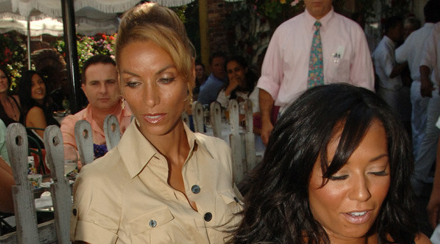 Mel B z Nicole Mitchell 2 sierpnia  /Splashnews