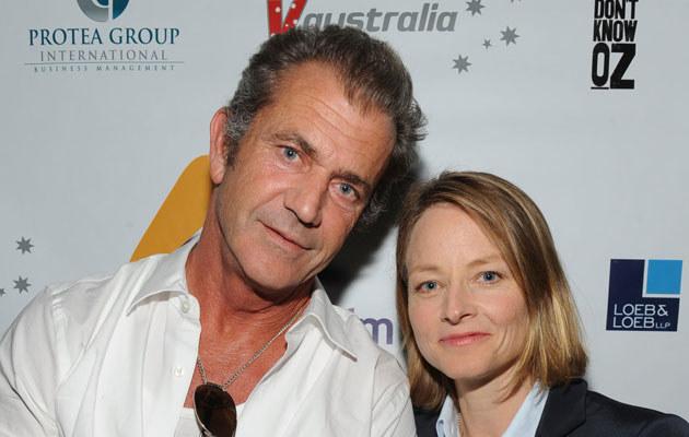 Mel Gibson i Jodie Foster /Frazer Harrison /Getty Images