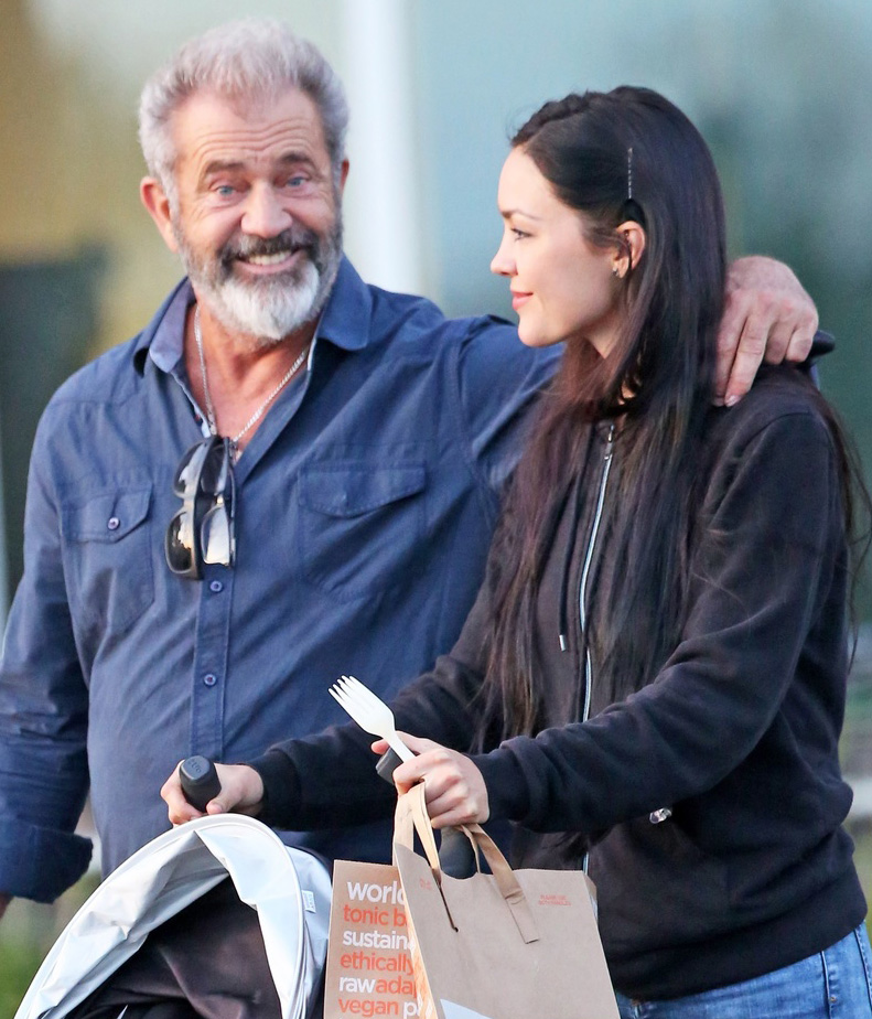 Mel Gibson, Rosalind Ross /East News