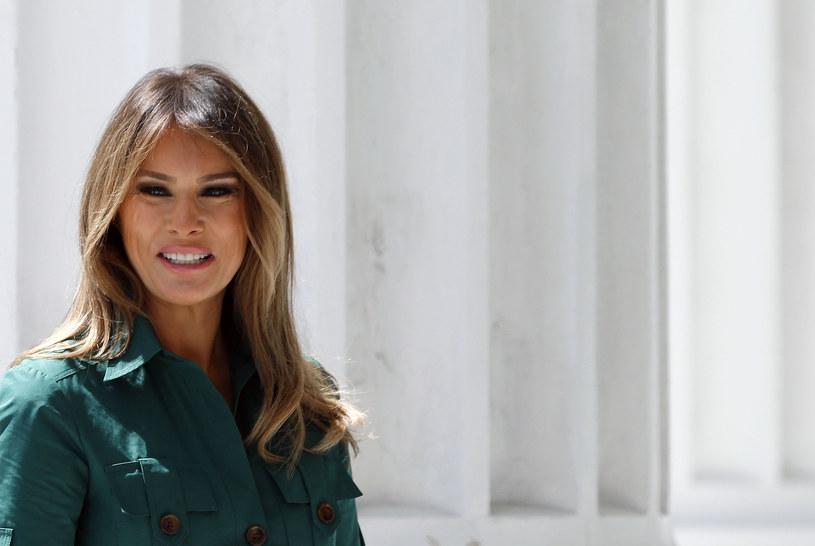 Melanai Trump //RHONA WISE /AFP