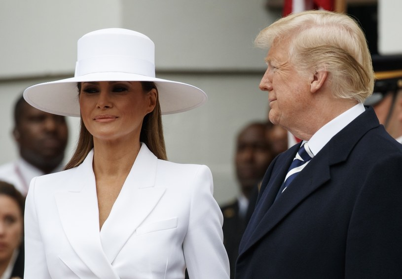 Melania i Donald Trump /East News