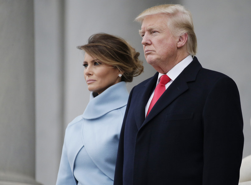 Melania i Donald Trump /Pool /Getty Images