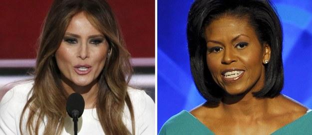 """Melania Trump """"ściągnęła"""" przemówienie od Michelle Obamy? CNN: To plagiat"""