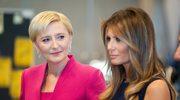 Melania Trump była zaskoczona, gdy Agata Duda wyjawiła jej swoją tajemnicę!