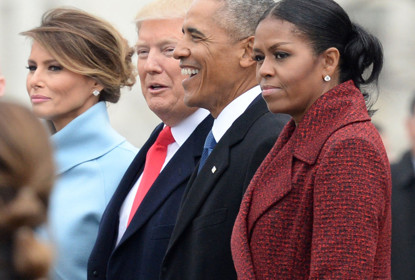 Melania Trump, Donald Trump, Barack Obama i Michelle Obama /Pool /Getty Images