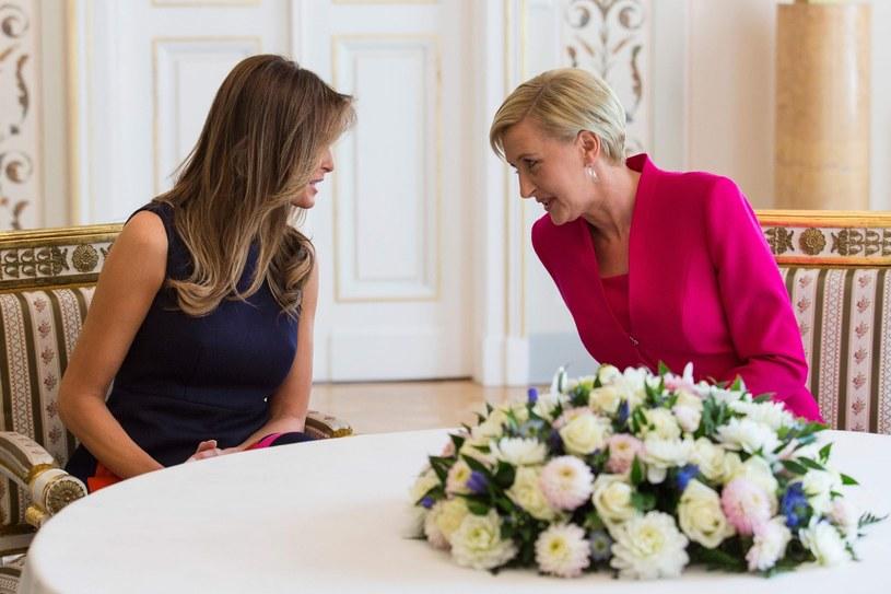 Melania Trump i Agata Duda /East News