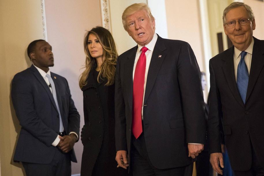 Melania Trump i Donald Trump /AA/ABACA /PAP/EPA