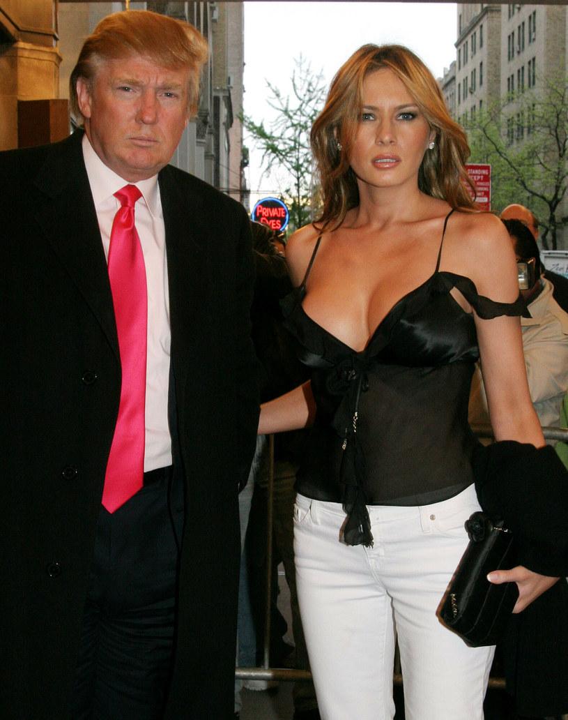 Melania Trump i Donald Trump /East News