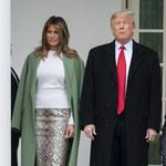 Melania Trump i jej reakcja na dotyk Donalda Trumpa wywołała sensację! Plotki o ich kryzysie są prawdą?