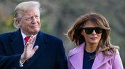 Melania Trump - ikona mody w ciemnych okularach