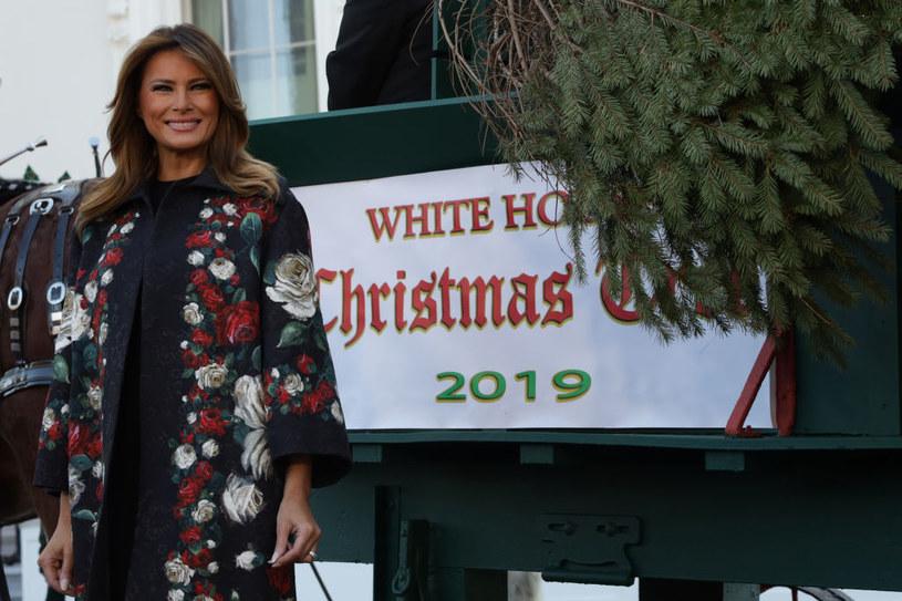 Melania Trump jest już gotowa na nadchodzące Święta Bożego Narodzenia /ALEX WONG /Getty Images
