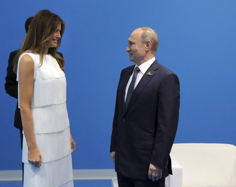 Melania Trump miała okazję poznać wielu światowych przywódców, w tym Putina /POOL SPUTNIK KREMLIN /East News