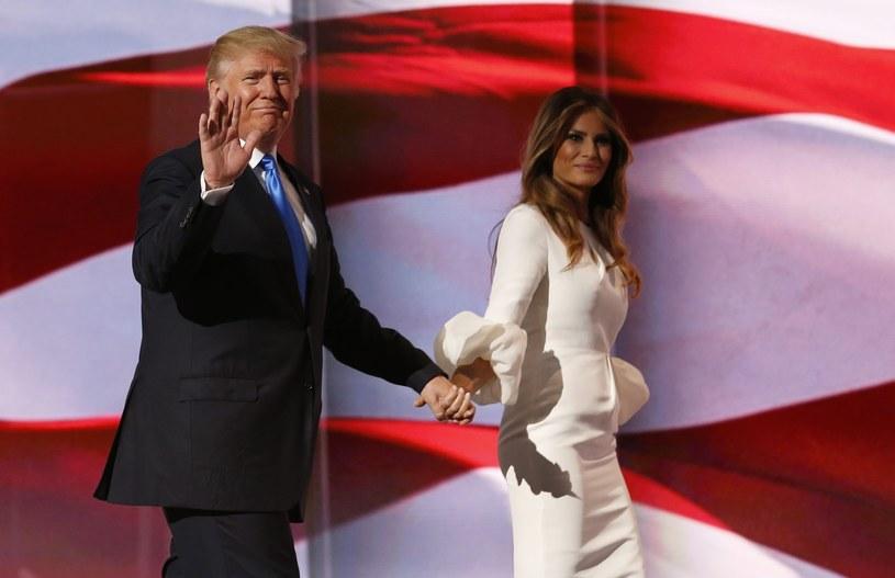 Melania Trump na konwencji Republikanów /PAP/EPA