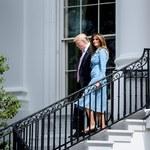 Melania Trump nieco się zaokrągliła!