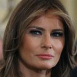 Melania Trump odpycha czułości męża