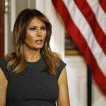 Melania Trump w oryginalnej stylizacji
