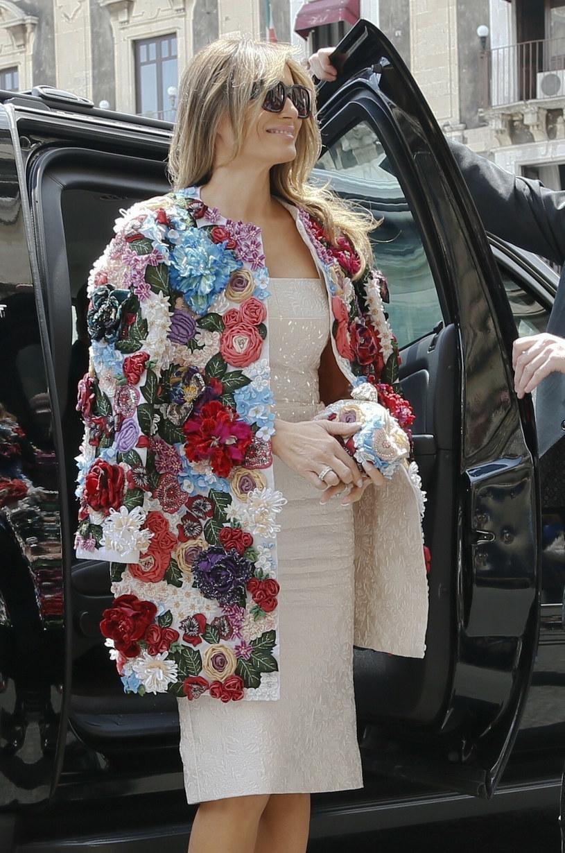 Melania Trump w płaszczyku za ponad 50 tys. dolarów /East News