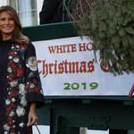 Melania Trump w świątecznym nastroju!