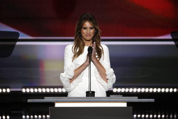 Melania Trump /SHAWN THEW    /PAP/EPA