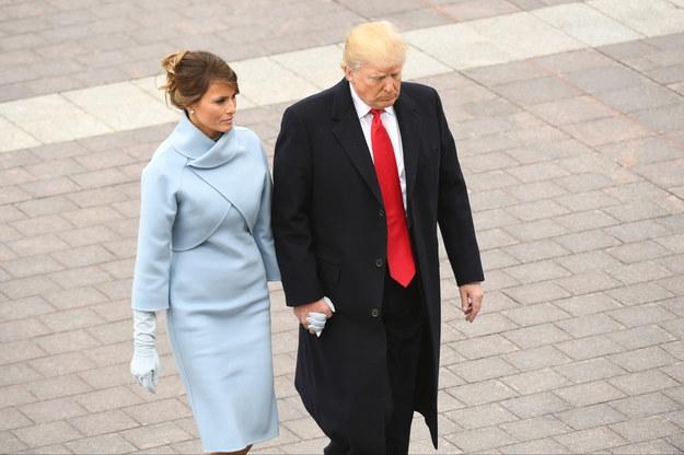 Melania Trump /JACK GRUBER / POOL /PAP/EPA