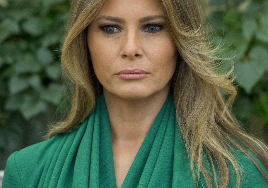 Melania Trump /Ron Sachs / POOL /PAP/EPA
