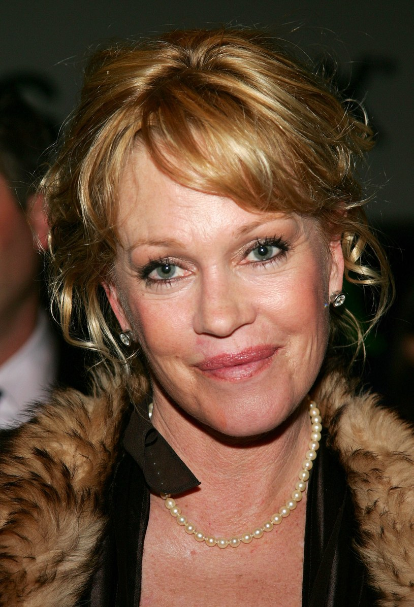 Melanie Griffith 10 lat temu /Evan Agostini /Getty Images