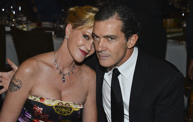 Melanie Griffith i Antonio Banderas /Frazer Harisson /Getty Images