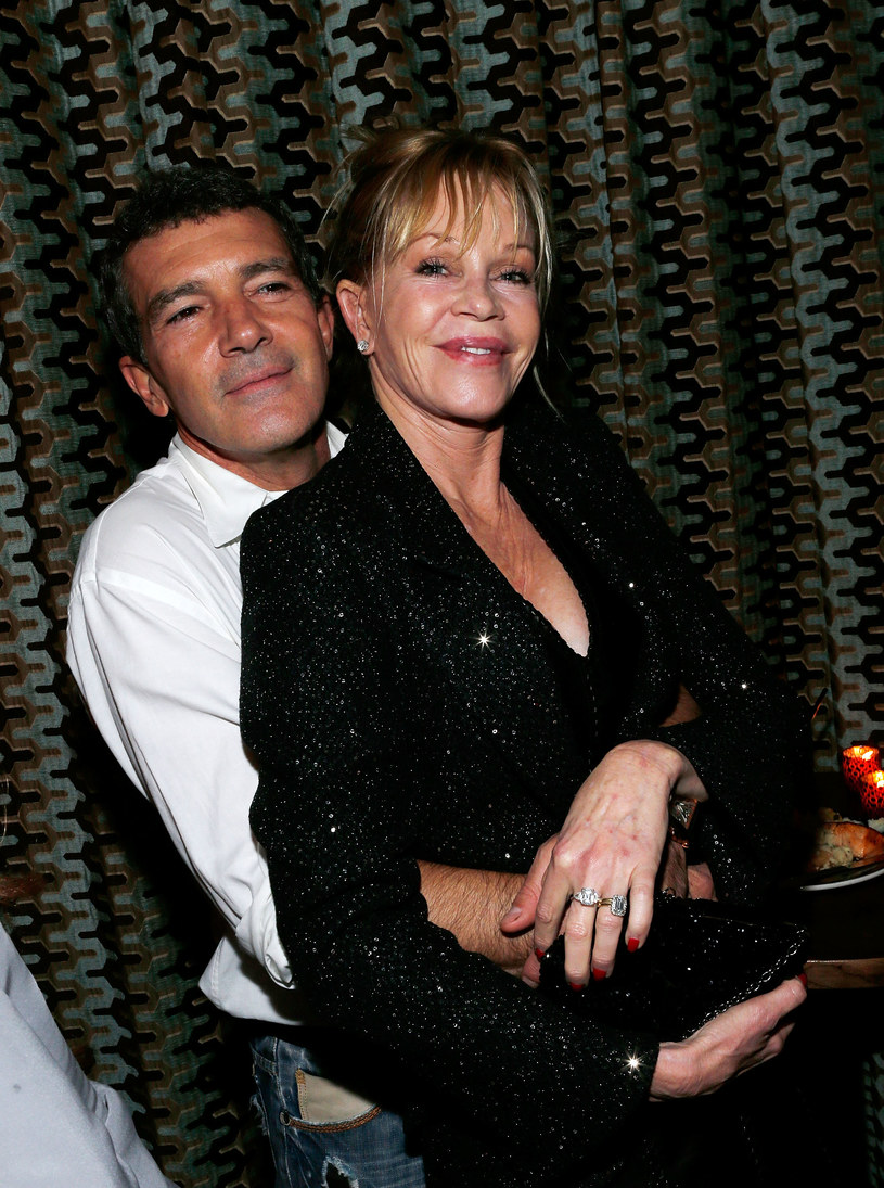 Melanie Griffith i Antonio Banderas /Jemal Countess /Getty Images